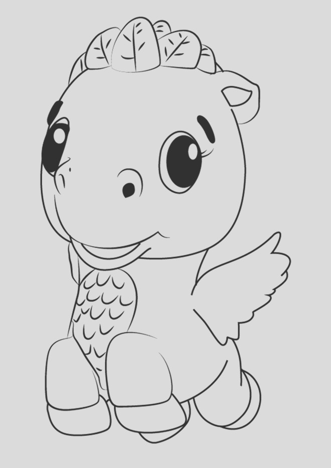 hatchimals coloring pages
