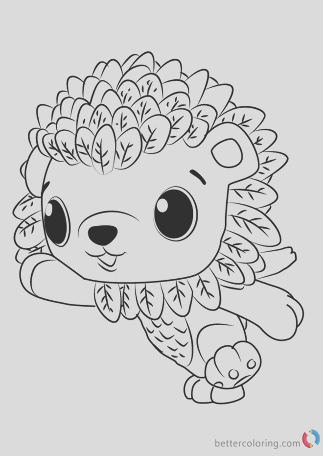 hatchimals coloring page