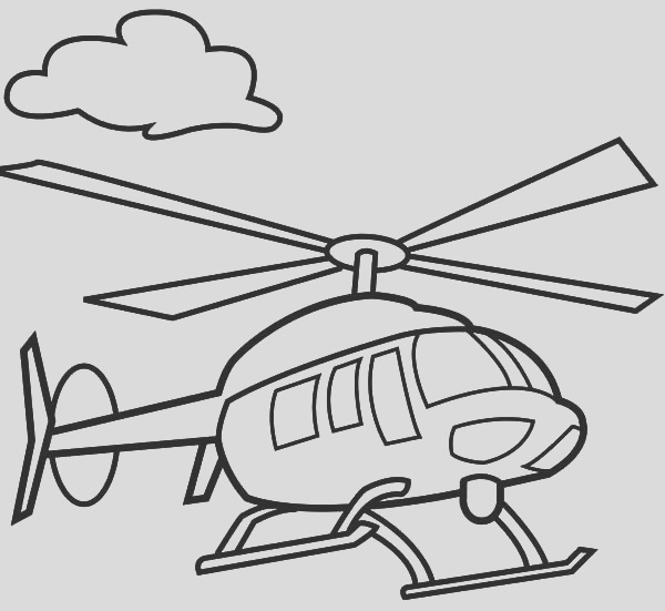 helicopter drawing pictures