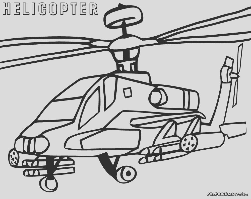 chinook helicopter coloring pages