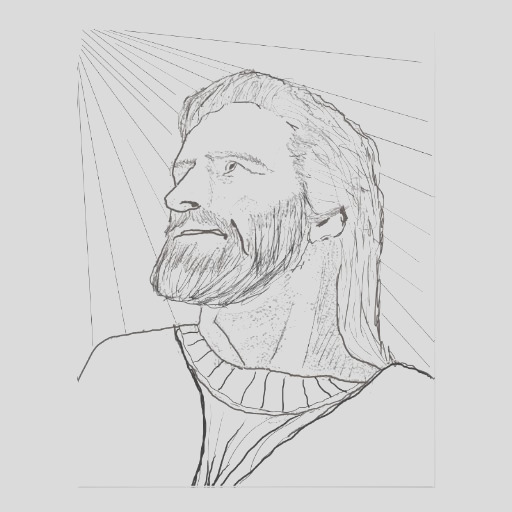 i am the light of the world jesus coloring image flyer