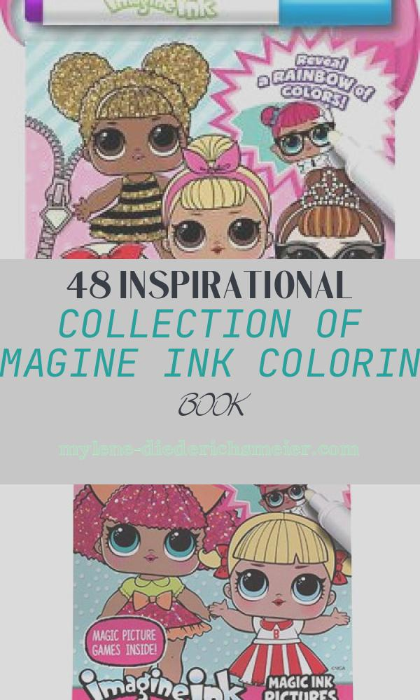 Imagine Ink Coloring Book Fresh New Lol Surprise 24 Page Imagine Ink Magic