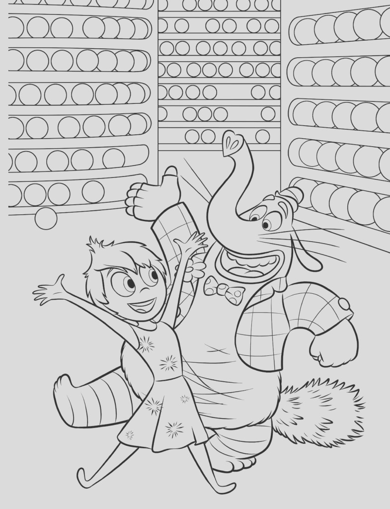 inside coloring pages