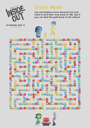 free pixar inside out printable coloring pages activities