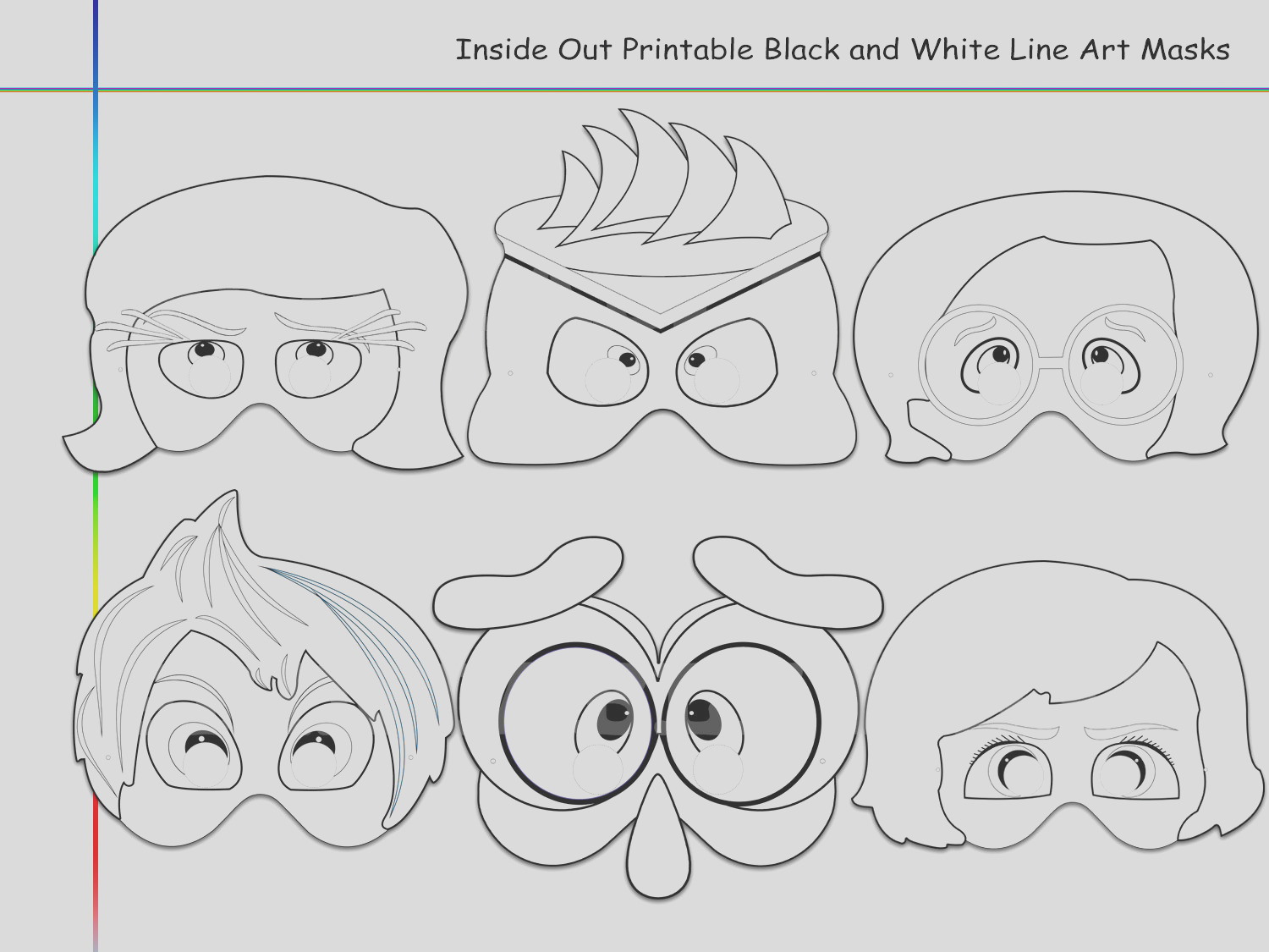 coloring pages inside out printable