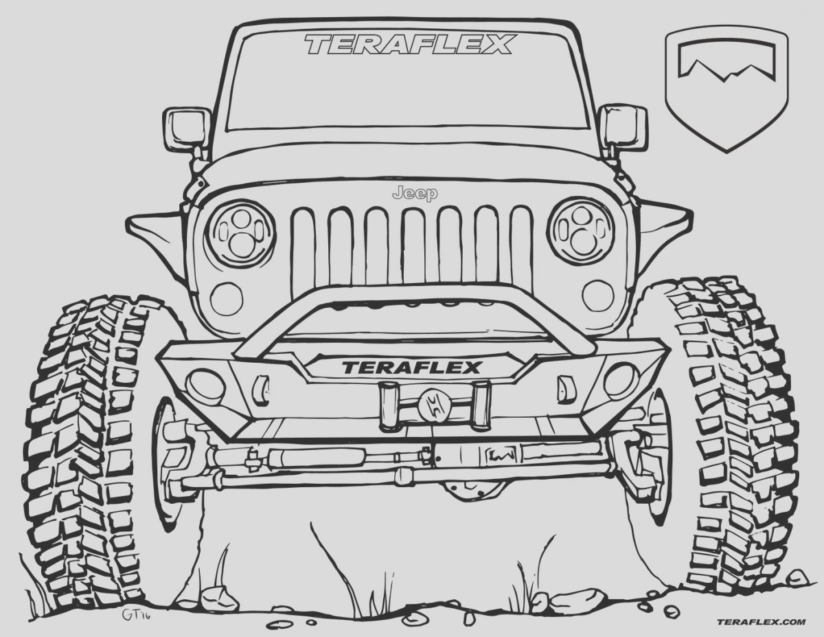 Jeep Coloring Page Unique Gallery Teraflex Jeep Coloring Pages Teraflex