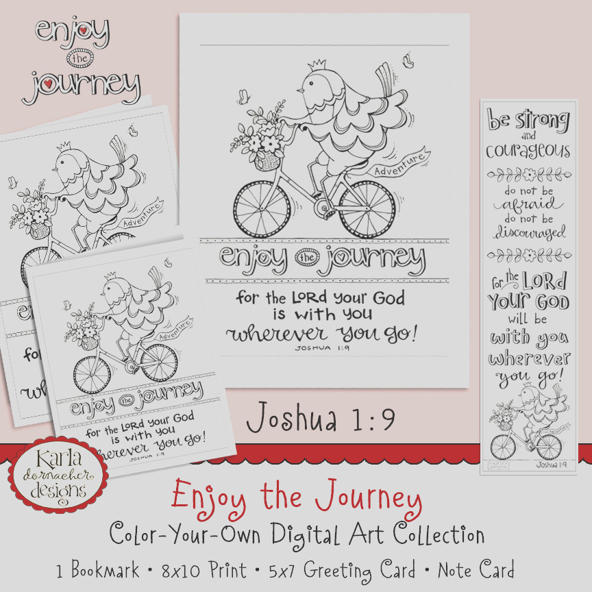 enjoy the journey joshua 19 coloring collection