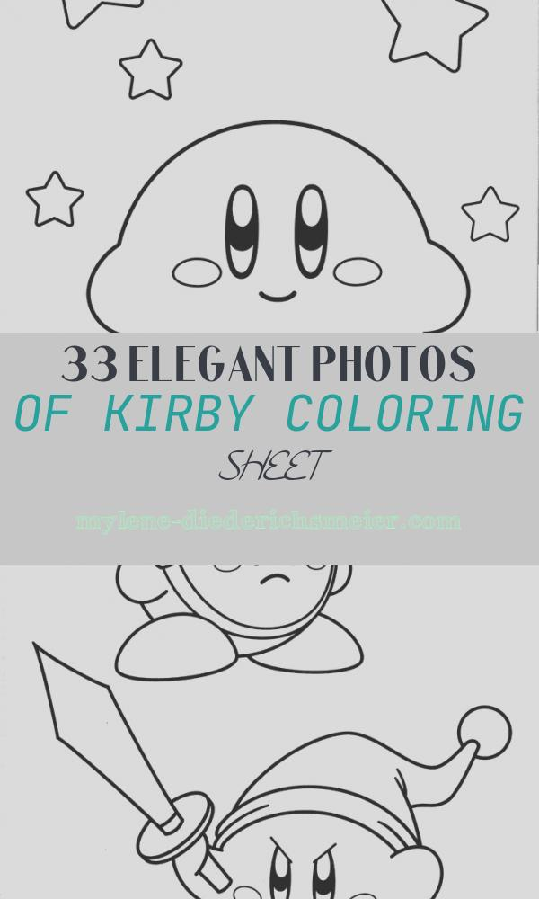 Kirby Coloring Sheet Fresh Free Printable Kirby Coloring Pages for Kids