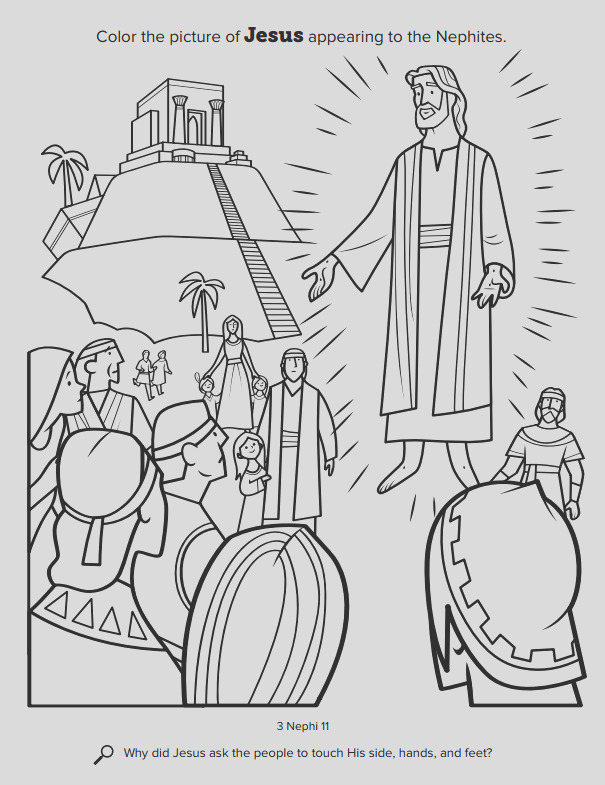church releases new coloring book for kids free pages available here