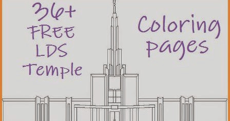 temple coloring sheets