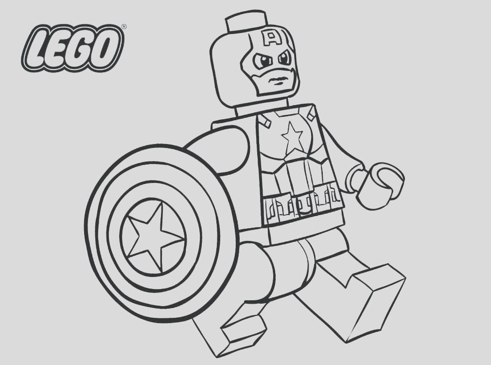 lego superhero coloring pages