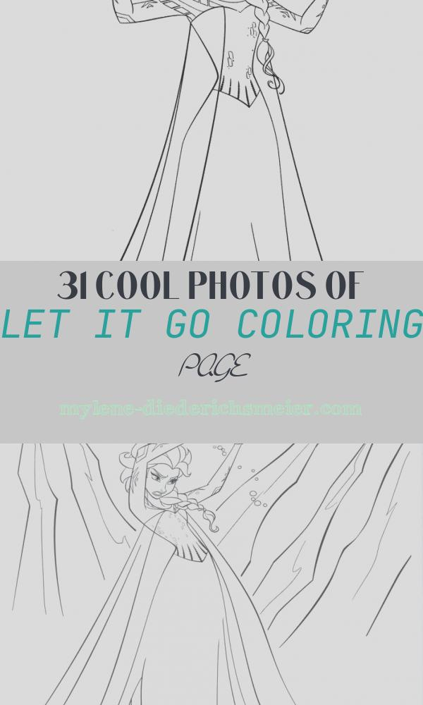 Let It Go Coloring Page Best Of Disney Frozen Coloring Pages to Download