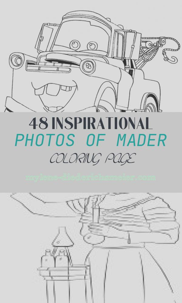 Mader Coloring Page Luxury Free Printable tow Mater Coloring Pages Page Fancy Mader