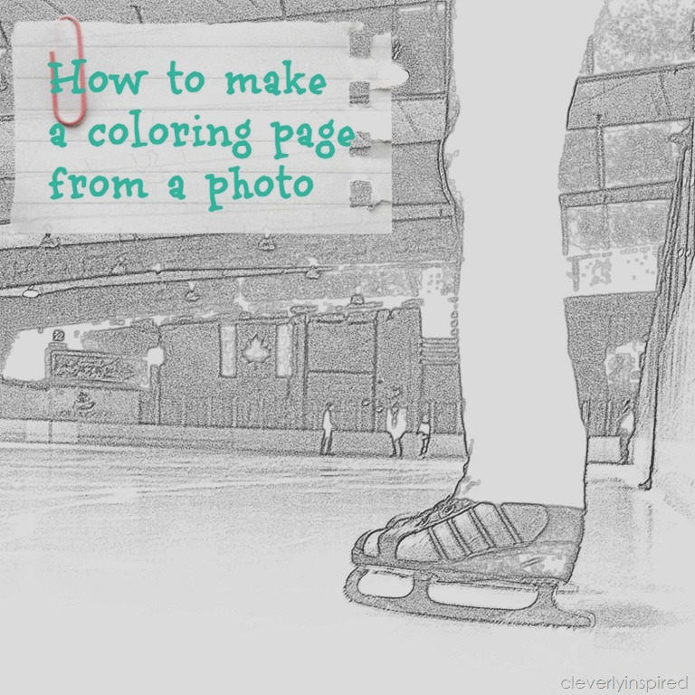 how to make a coloring page from a photo 2