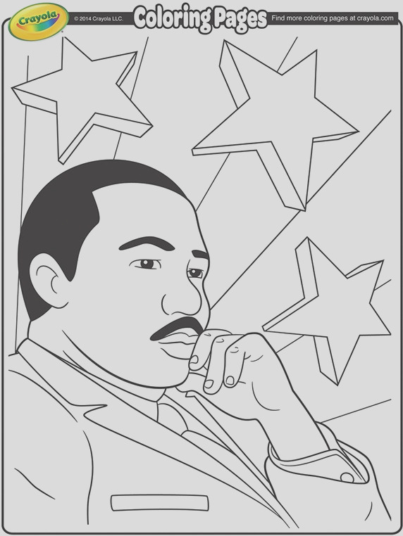 martin luther king jr coloring page