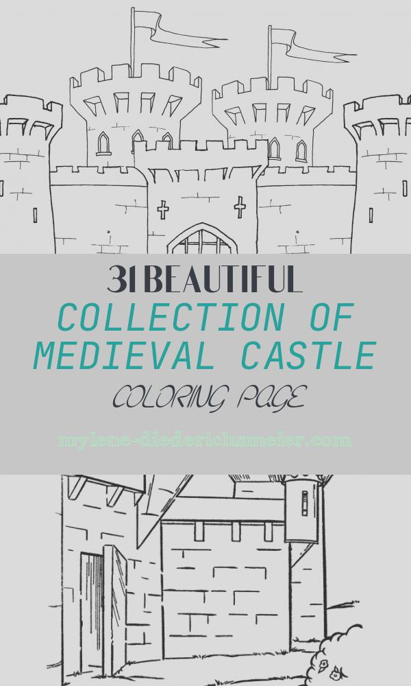 Medieval Castle Coloring Page Best Of Me Val Castle Colouring Page