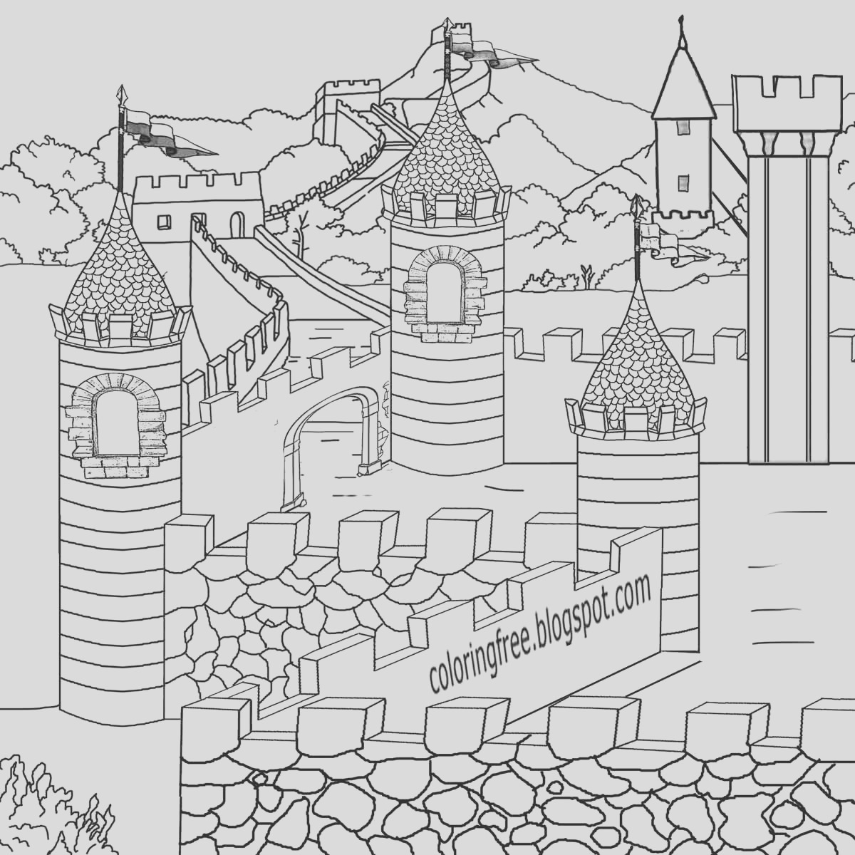 dark ages me val coloring pages for