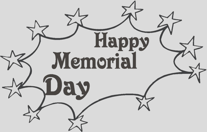 memorial day printables and coloring
