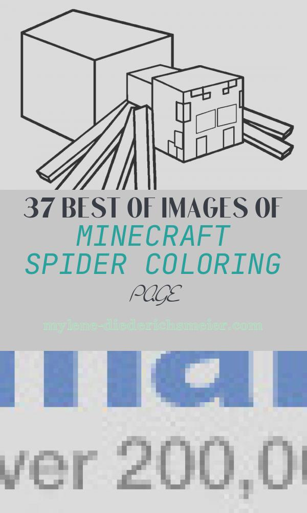 Minecraft Spider Coloring Page Elegant Free Printable Spider Coloring Pages for Kids
