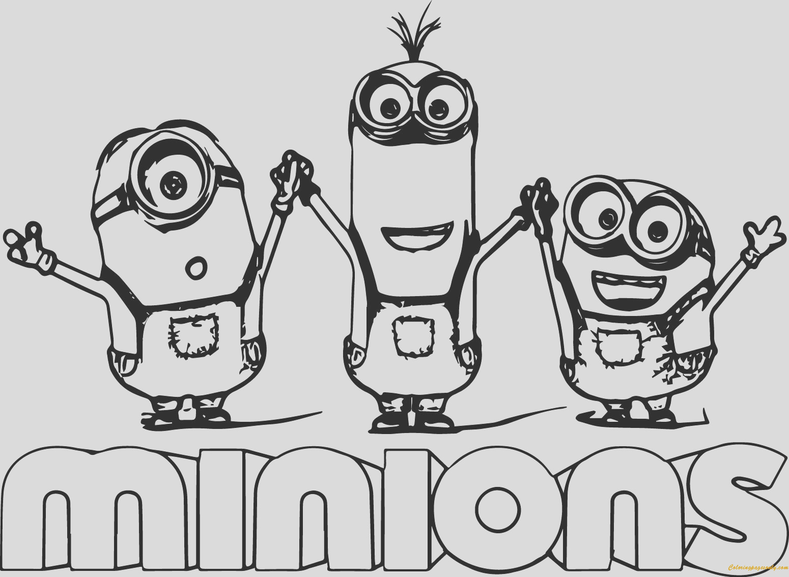 minion kevin with two minions