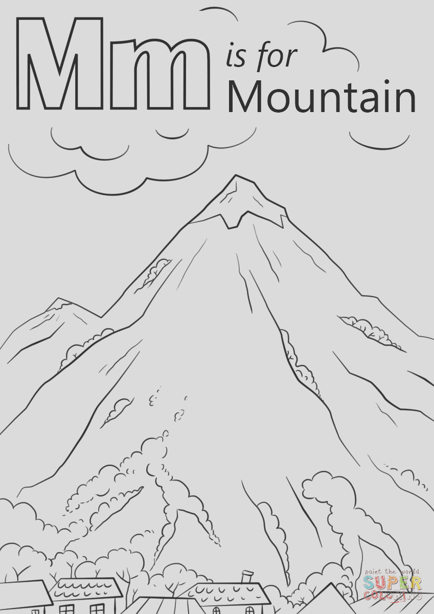 letter m is for mountain