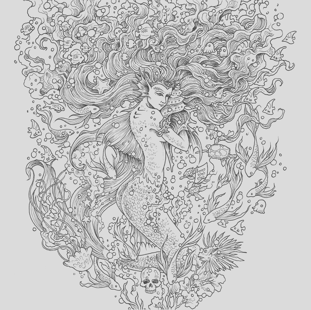 once upon a time mythomorpia happened kerby rosanes creates beautiful fantasy coloring book