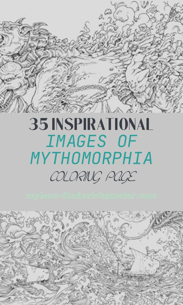 Mythomorphia Coloring Page New Mythomorphia An Extreme Coloring and Search Challenge