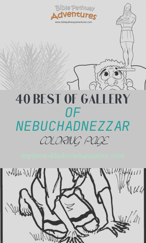 Nebuchadnezzar Coloring Page Awesome Nebuchadnezzar's Dream – Bible Pathway Adventures