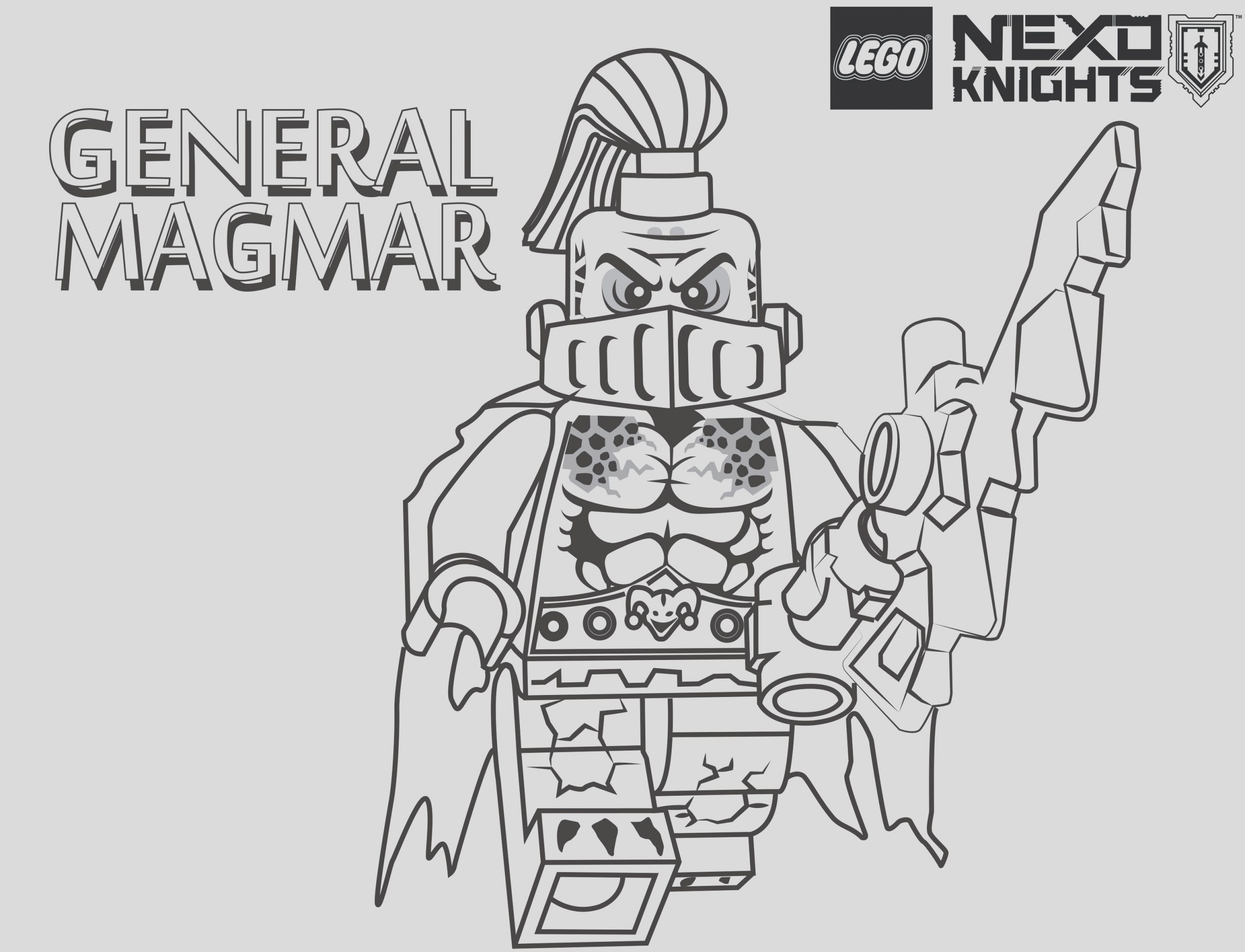 best of luxe coloriage lego nexo knit