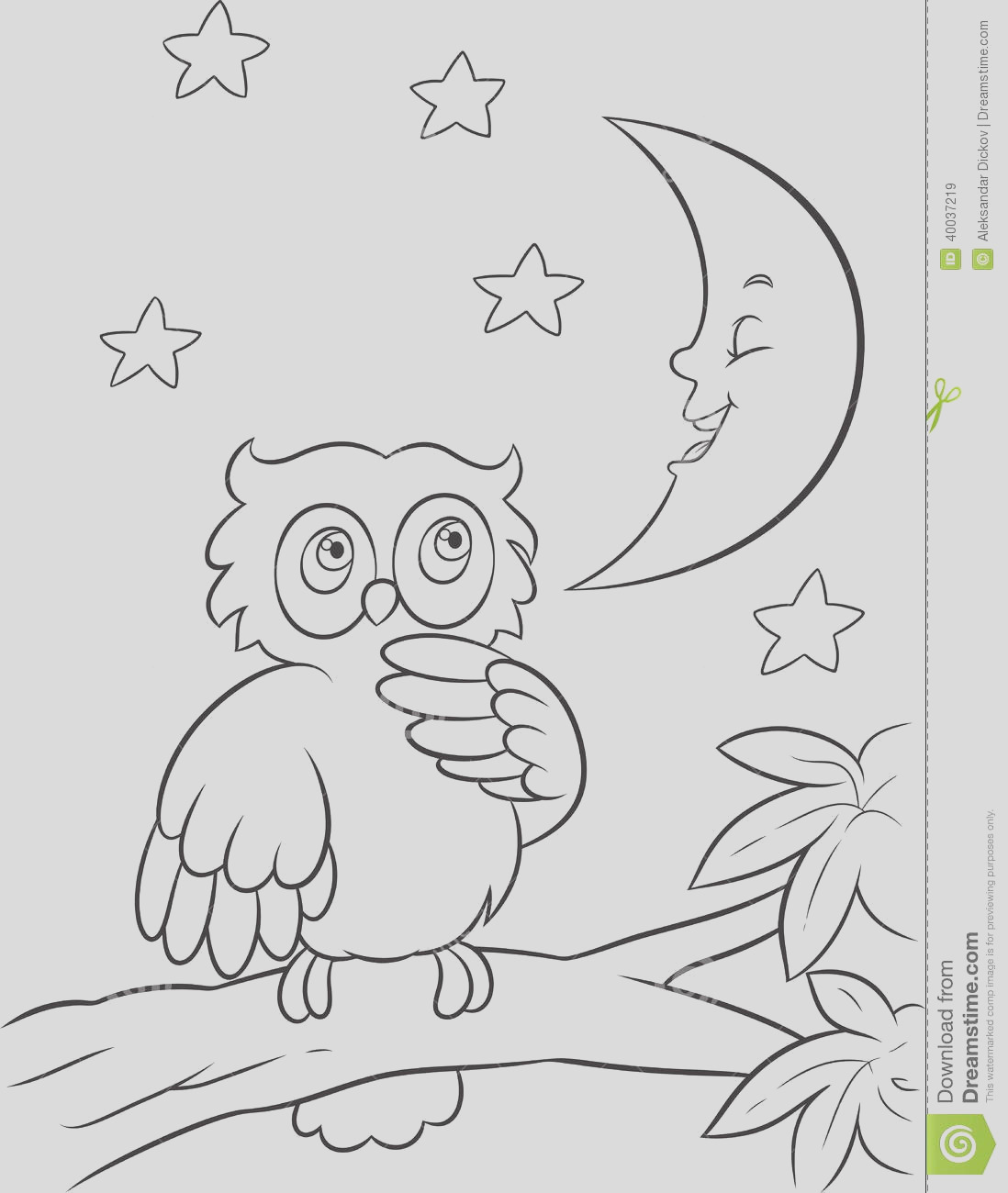 night time coloring pages 2