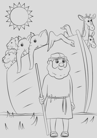 noahs ark animals two by two