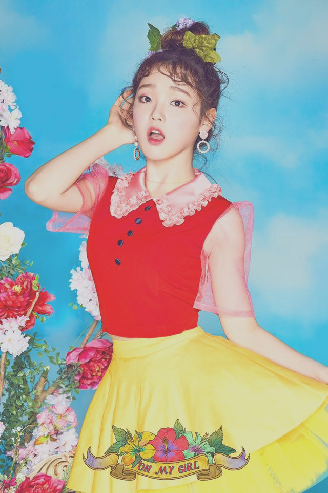 pict 오마이걸oh my girl 4th mini album coloring book teaser