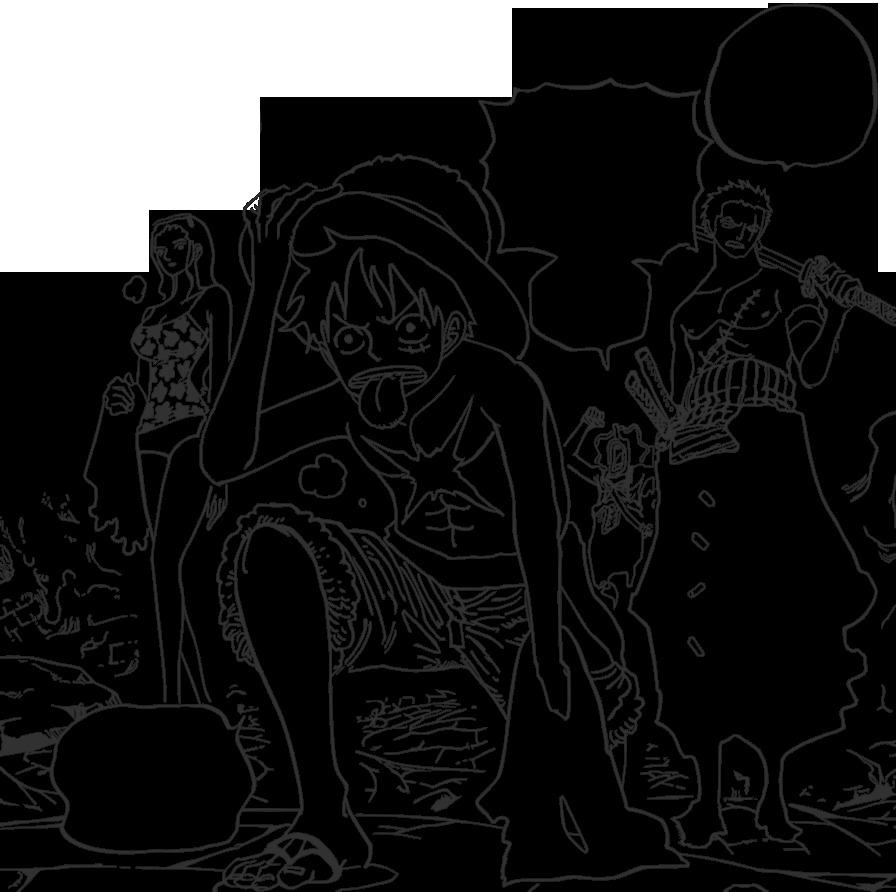 one piece coloring books for manga