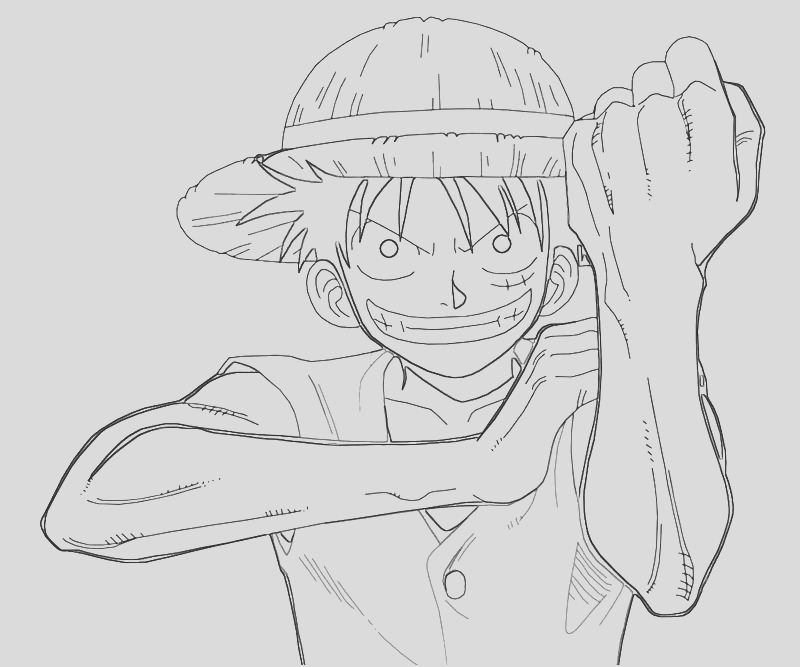 one piece monkey d luffy character
