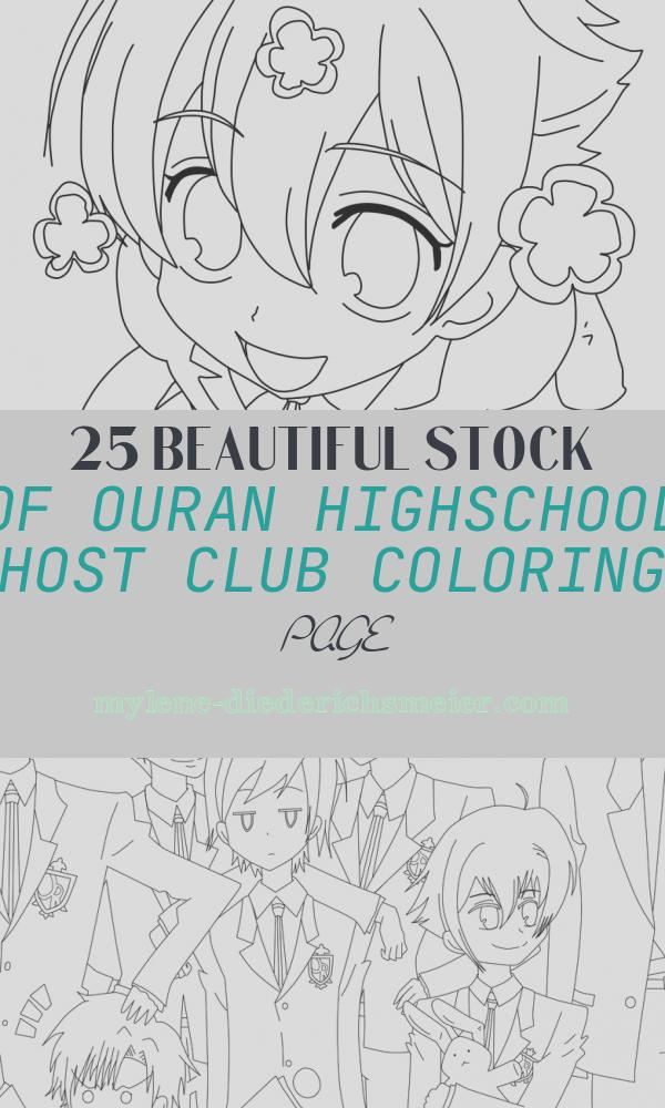 Ouran Highschool Host Club Coloring Page Beautiful Ouran Host Club Free Colouring Pages