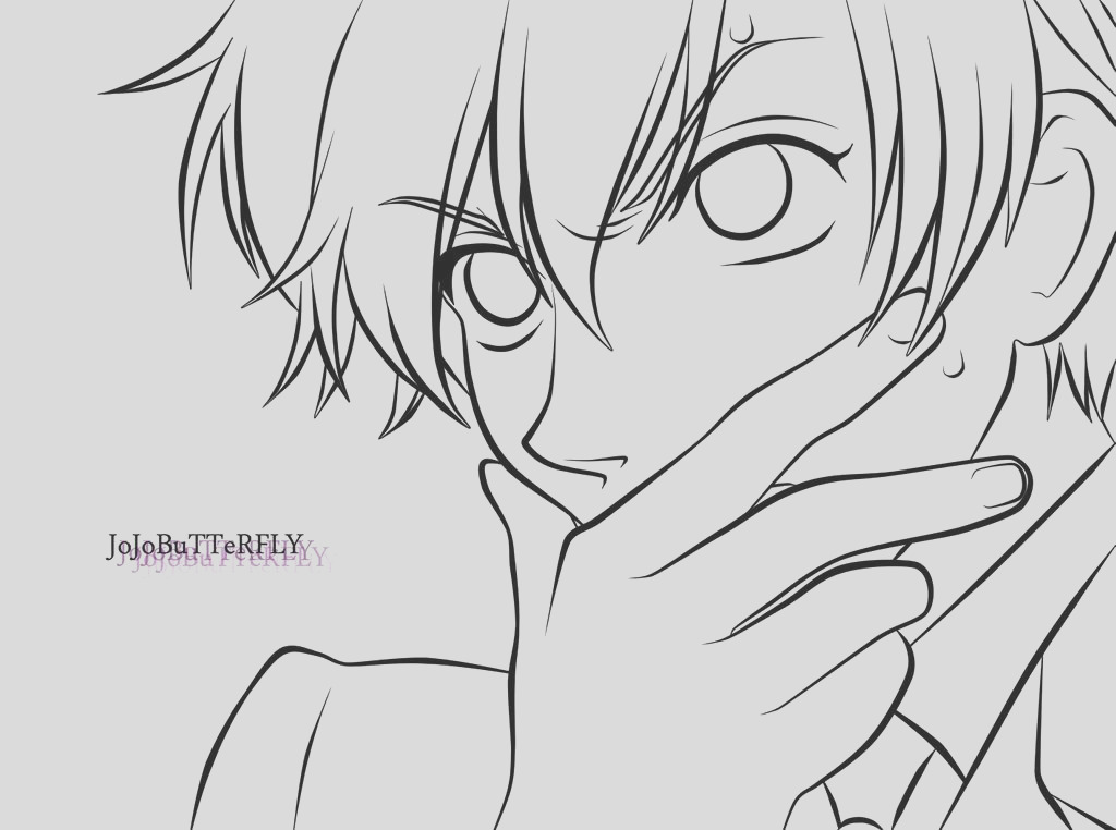 Tamaki from Ouran High School Host Club Lineart