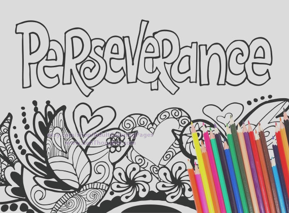 printable coloring page perseverance