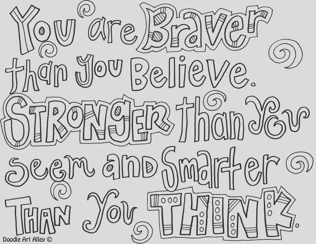 Quotes coloring perseverance