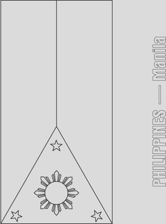 philippines flag coloring page 1d1251