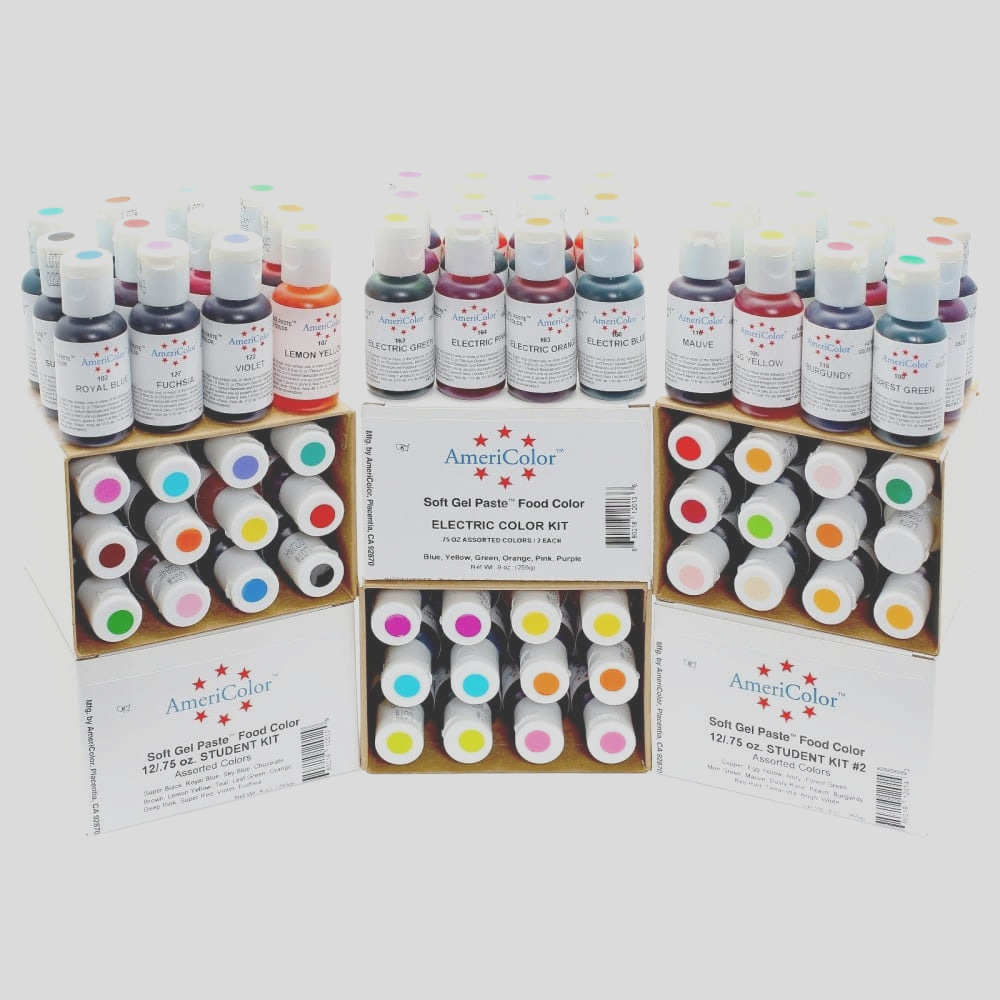 americolor gold soft gel paste food icing buttercream colouring pp1951