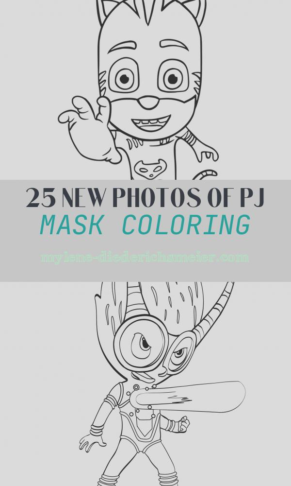 Pj Mask Coloring Awesome Pj Masks Coloring Pages Best Coloring Pages for Kids