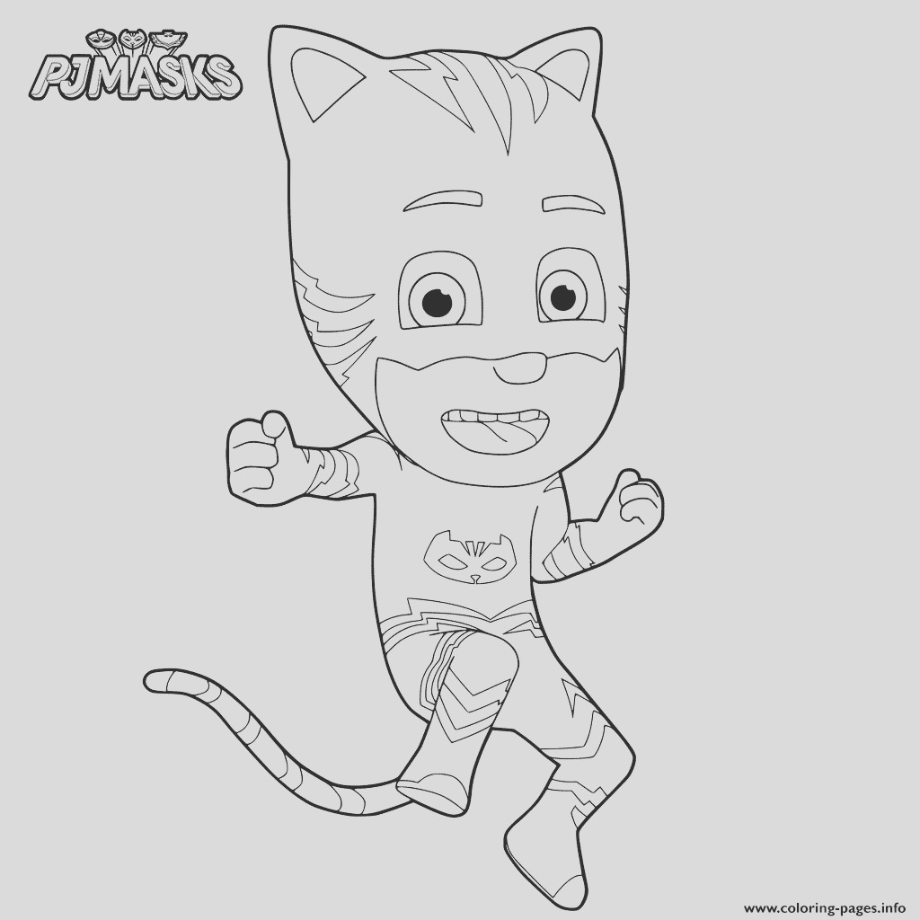 news pj masks printable coloring pages book