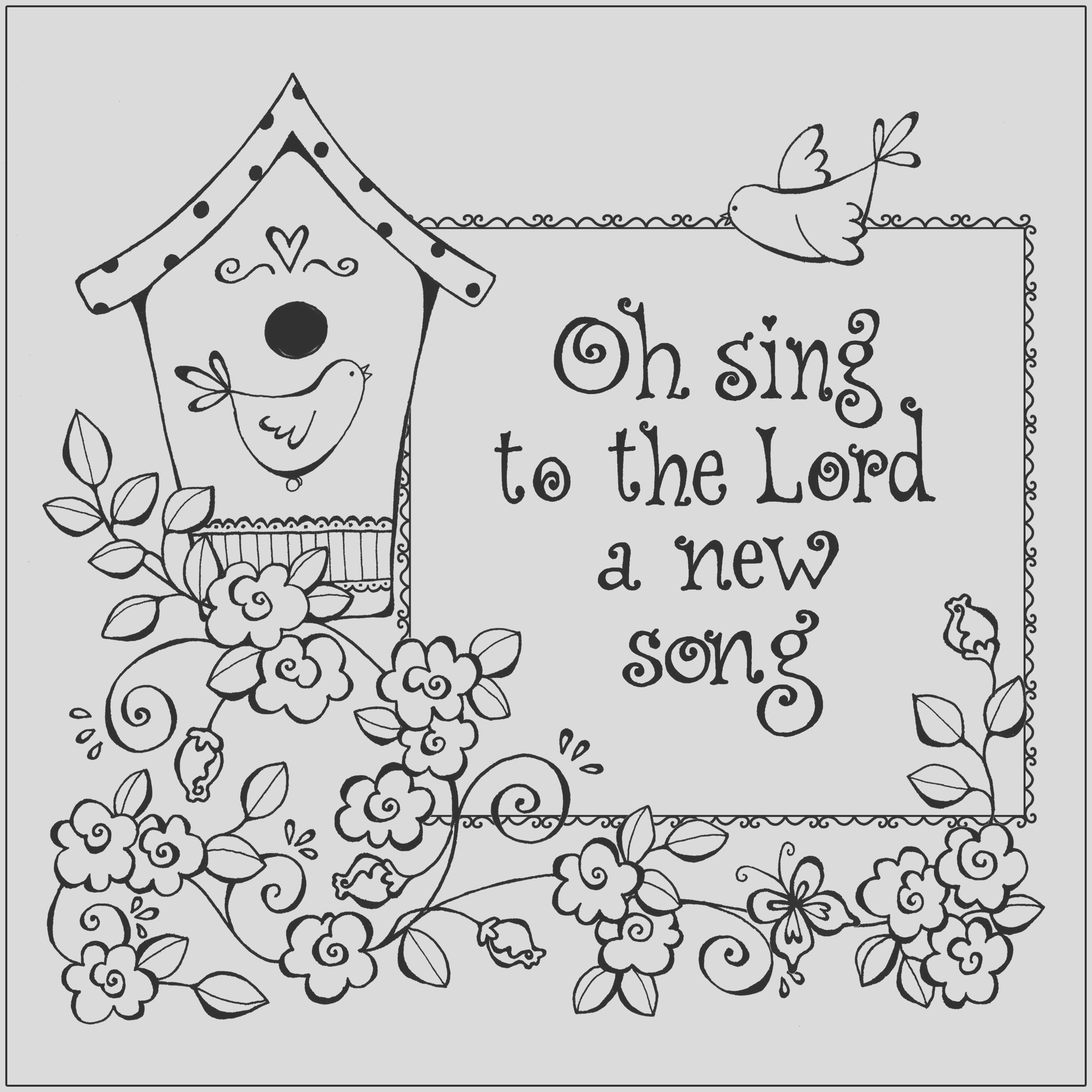 praise and worship coloring pages 2