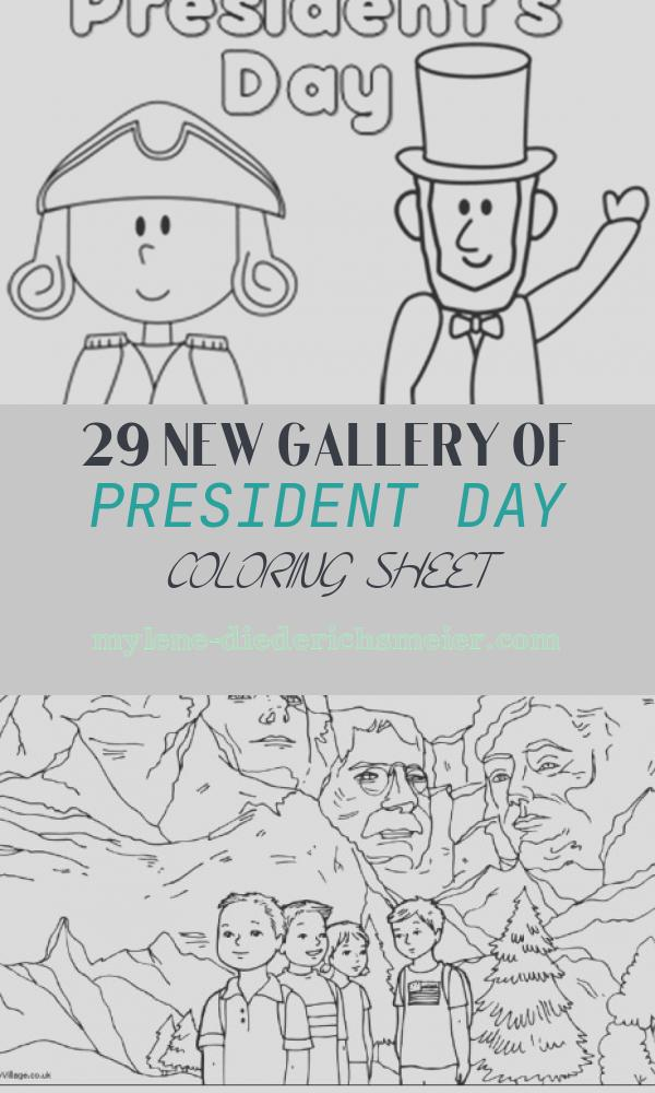 President Day Coloring Sheet New Presidents Day Coloring Pages