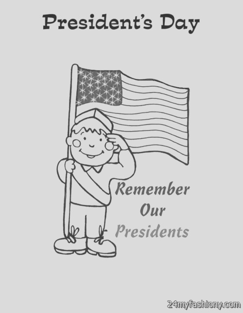 happy presidents day coloring pages pictures 2016