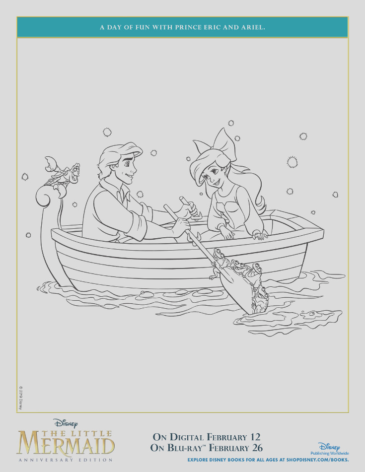 the little mermaid prince eric coloring page