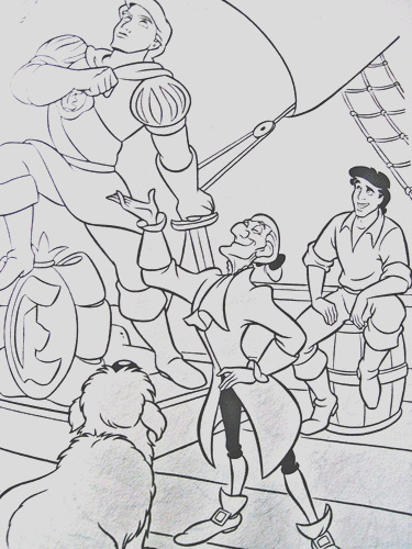 walt disney coloring pages max sir grimsby prince eric photo