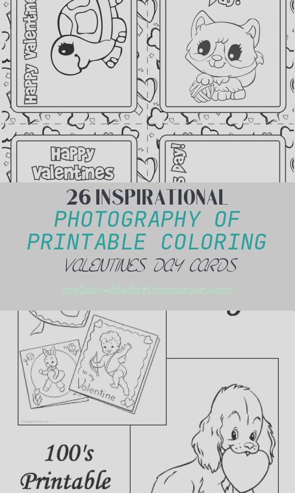Printable Coloring Valentines Day Cards Elegant Free Printable Valentines Bw Crafts for Kids
