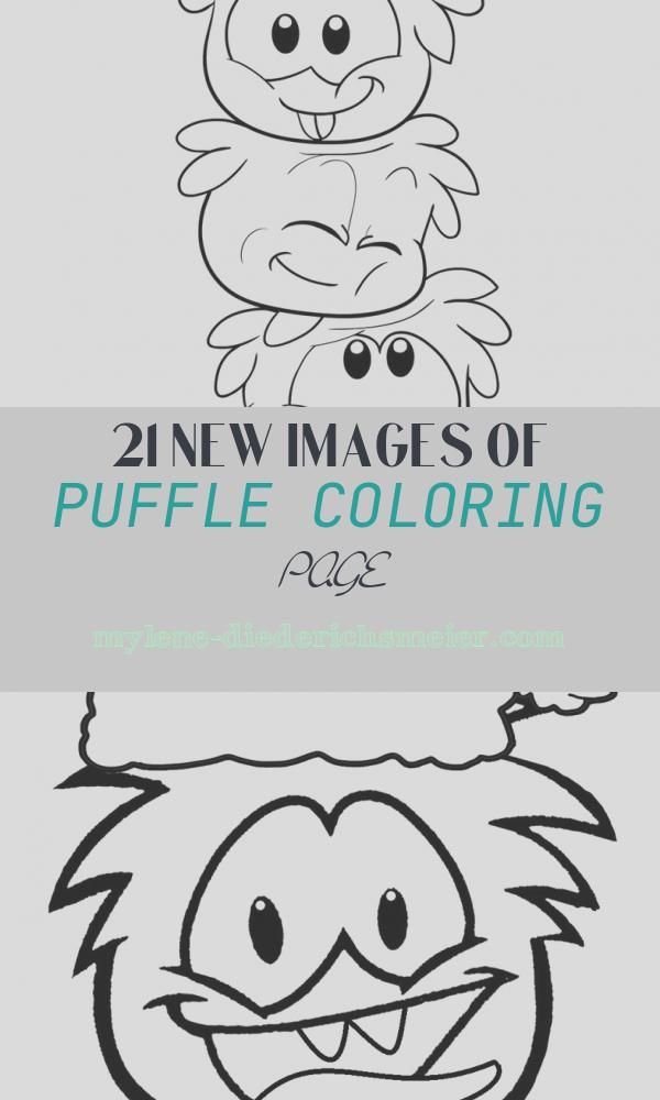Puffle Coloring Page Beautiful Free Printable Puffle Coloring Pages for Kids