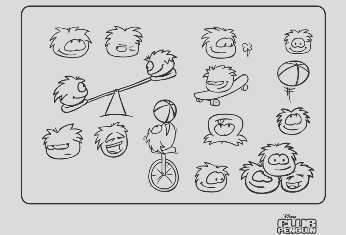 File Old 2006 Puffle Coloring Page
